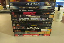 DVD LOT Action Adventure Movies You Pick all $4 dvds!!!