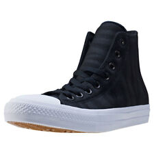 Converse Ct All Star Ii Zebra Knit Hi Mens Trainers Black New Shoes