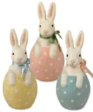 Bethany Lowe Easter Spring Bunny In Egg Paper Mache LARGE U Pick Color