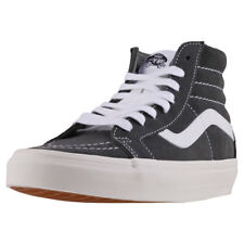 Vans Sk8-hi Reissue Womens Trainers Olive White New Shoes
