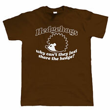 Hedgehogs Mens Funny T Shirt - Birthday Fathers Day Gift for Him Dad