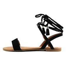 INC International Concepts Womens Ganice Fabric Open Toe Casual Strappy Sandals