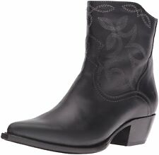 FRYE Womens Shane Leather Pointed Toe Mid-Calf Cowboy Boots