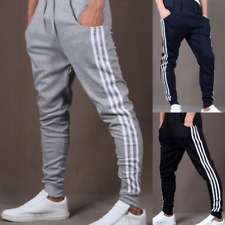 Men's Trousers Casual Jogger Dance Sportwear Elastic Baggy Harem Pants Slacks