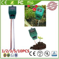 1-10Pack  Soil Water Moisture PH Tester for Garden Plant Flower 3 in 1 Meter UNH