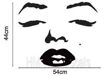 NEW Marilyn Monroe Face Wall Decal