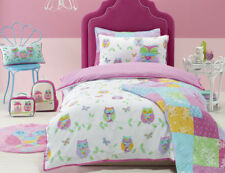 NEW Owl Song Printed Bed Quilt Cover Set