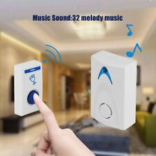 15PC LED Wireless Chime Door Bell Doorbell Wireles Remote Control 32 Tune Song#X