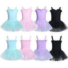 Kid Girl Ballet Leotard Tutu Costume Toddler Princess Dress Up Party Dancewear