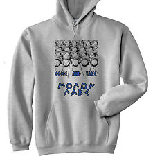 SPARTANS SPARTAN COME AND TAKE - NEW COTTON GREY HOODIE