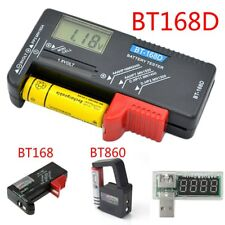 AA AAA C D 9V 1.5V Universal Button Cell Battery Volt Tester Checker Indicator A
