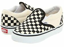 Vans Classic Slip On Checkerboard Infant Toddler Baby Boy Girl Shoes All Sizes