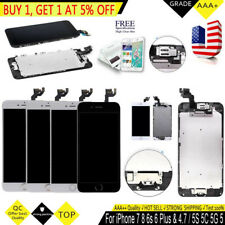 iPhone 6 Plus iPhone6S 5S 5C 5G 5 Home Button Touch LCD Screen Display Digitizer
