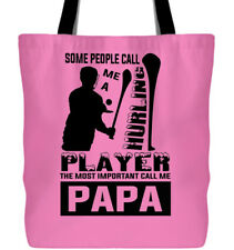 I Love Hurling Canvas Tote Bags, I'm A Hurling Player Tote Bags