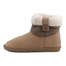 Rampage Womens Parvin Fabric Closed Toe Ankle Fashion Boots