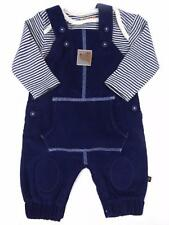 Baby Boys Dungaree Long Sleeve Vest Top  Newborn and 0-3 Months 3-6 Month Ex BHS