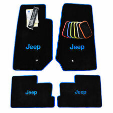 JEEP JK 4 Door Unlimited Floor Mats Jeep Wrangler Sahara Rubicon 2014-2018