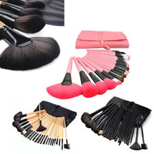 24/32Pcs Professional Makeup Brush Set Cosmetic Make Up Beauty Brushes with Case