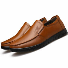 New Mens Formal Leather Shoes Driving Slip on Loafer Casual Moccasins Shoes