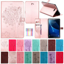Smart Magnet Leather Card Stand Case Flip Cover For Samsung Galaxy Tab A Tablet