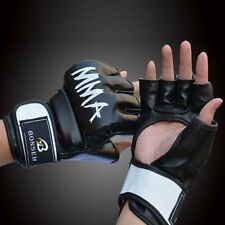 Boxing MMA Gloves Grappling Punching Bag Training Martial Arts Sparring UFC LN