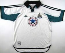 Newcastle United 1997 1999 Adidas soccer shirt jersey Utd. vintage 90s mens L
