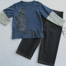 NWT Kenneth Cole Boys Long Sleeve Two Piece Set 2T 3T NEW