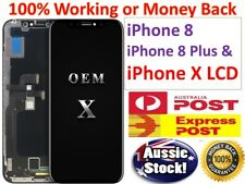 iPhone 8 8 Plus & X LCD Screen Replacement Touch Display Full Digitizer Assembly