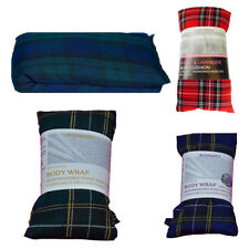 Pack 1 2 3 Tartan Wheat Heat Packs Body Wrap Lavender Unscented Microwave Relief