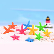 NEW 10pcs Resin starfish Flat back For Crafts Making