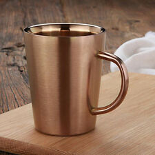 Stainless Steel Double Walled Insulated Water Cup Coffee Mug FREE SHIPPING