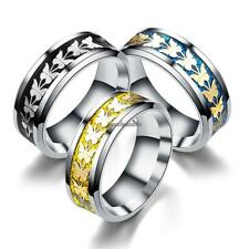 New Women Fashion Casual Wedding Charm Butterfly Pattern Jewelry Ring CLSV
