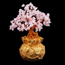 8.6inch Crystal Money Trees to Bring Wealth Good Luck Home Decoration Gifts