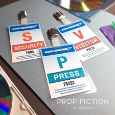 Iron Man - Prop Stark Industries Security Passes / Cosplay ID Card Badges