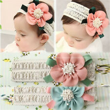 Kids Baby Girl Cute Toddler Lace Flower Hair Band Headwear Headband Accessories*