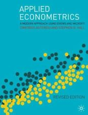 Applied Econometrics: A Modern Approach Using Eviews and Microfit Revised