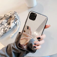 Luxury Slim Soft Silicone TPU Mirror Case Cover For iPhone 11 Pro Max XS XR 7 8+