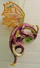 DRAGONS OF THE CRYSTAL CAVE ORNAMENT~GLIMMER~GUARDIAN OF HEARTS~ASHTON-DRAKE