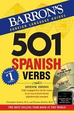 501 Verb: 501 Spanish Verbs with CD-ROM and Audio CD by Theodore Kendris
