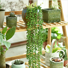 Artificial Fake Succulent Lover Tears String of Pearls Hanging Beads Home Decor