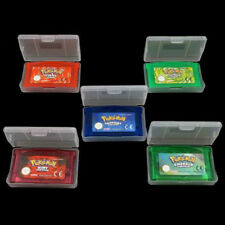 Pokemon Game Cartridge Card 5 Versions for Game Boy Advance GBA SP GBM NDS NDSL