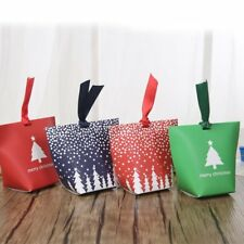 12/24 x Multi Christmas Wedding Favour Candy Gift Sweets Party Paper Bags Boxes