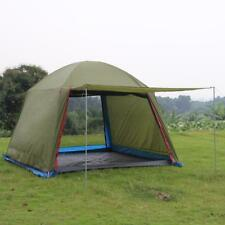 Outdoor Large Camping Tent 6 Persons Awning Double Layer Canopy Beach Waterproof