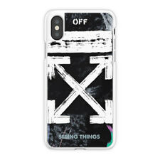 OFF WHITE Galaxy Brushed Case, OFF WHITE Galaxy iPhone Case X 6 7 S 8 Plus Case