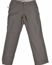 Columbia Mens Sage Brown Roc II Rugged Outdoor Chino Soft Casual Pants 32W 32L