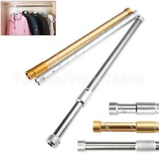 1X Cabinets Thickening Hangers Telescopic Rods Furniture Wardrobe Hanging Poles