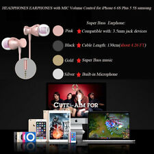 Newest 3.5mm Super Bass Stereo In-Ear Earphone Headphone Earbud Headset With Mic
