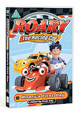 Roary the Racing Car: Roary's First Day DVD (2007) Dave Jenkins ***NEW***
