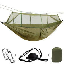 Portable Outdoor Parachute Hammock Mosquito Sleeping Nets Hanging Tree Swing Bed