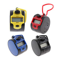 Hand Held Tally Counter 4 Digit Palm Golf Tally Clicker 7 Colors